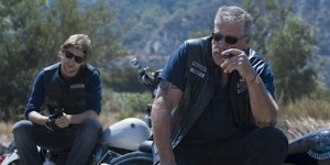 With Ron Perlman